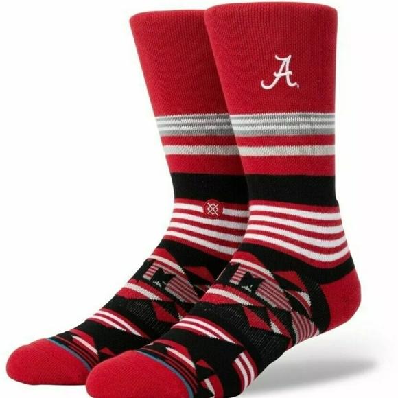 STANCE The University of Alabama GEO Stripe Socks